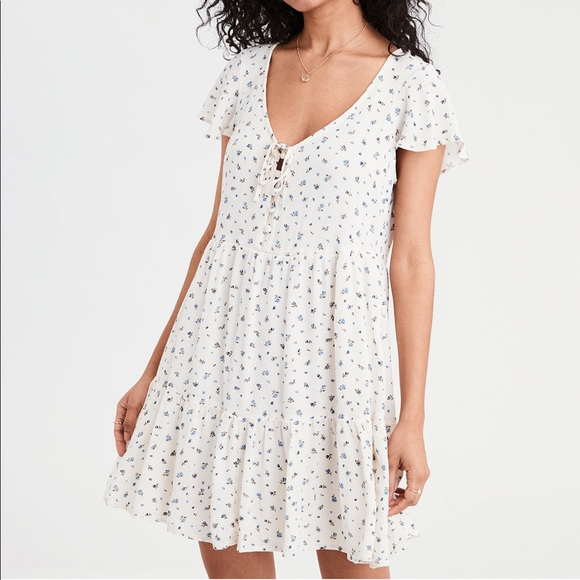 American Eagle Outfitters Dresses & Skirts - AE TIERED BABYDOLL DRESS